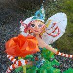 Elfe sur champignon
