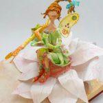 L'elfe sur sa fleur