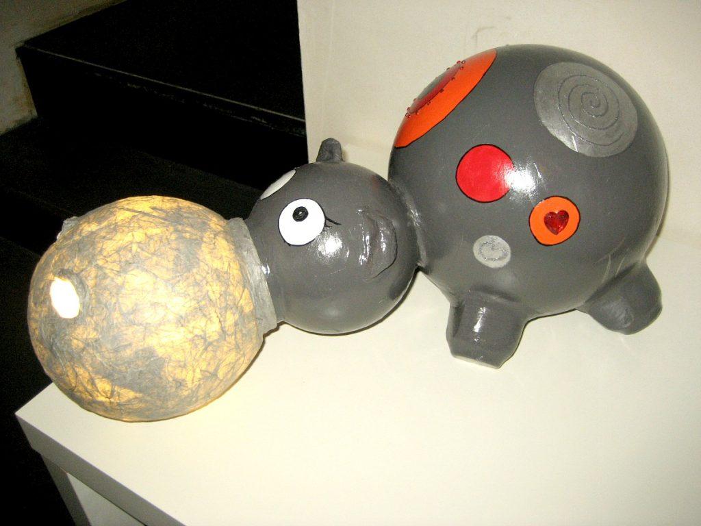 Lampe hippopotame