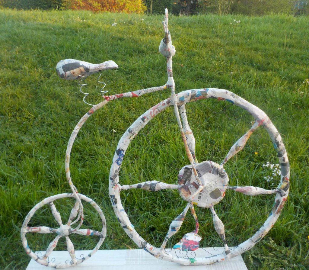 Vélo 1 roue 1