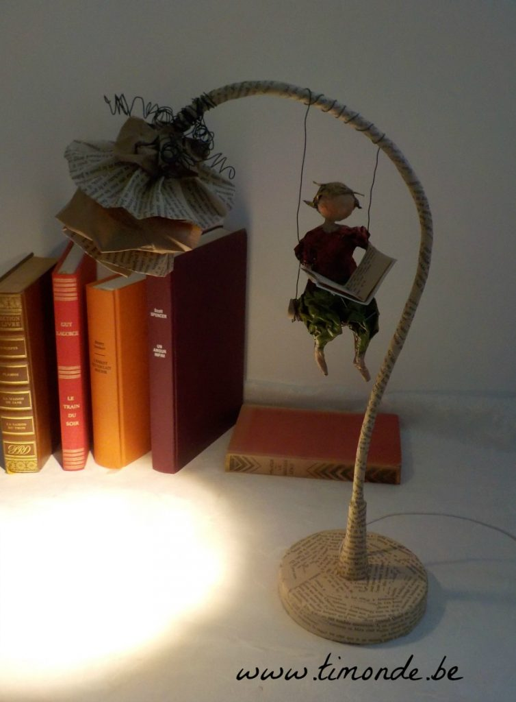 Lampe fleur balancelle 3