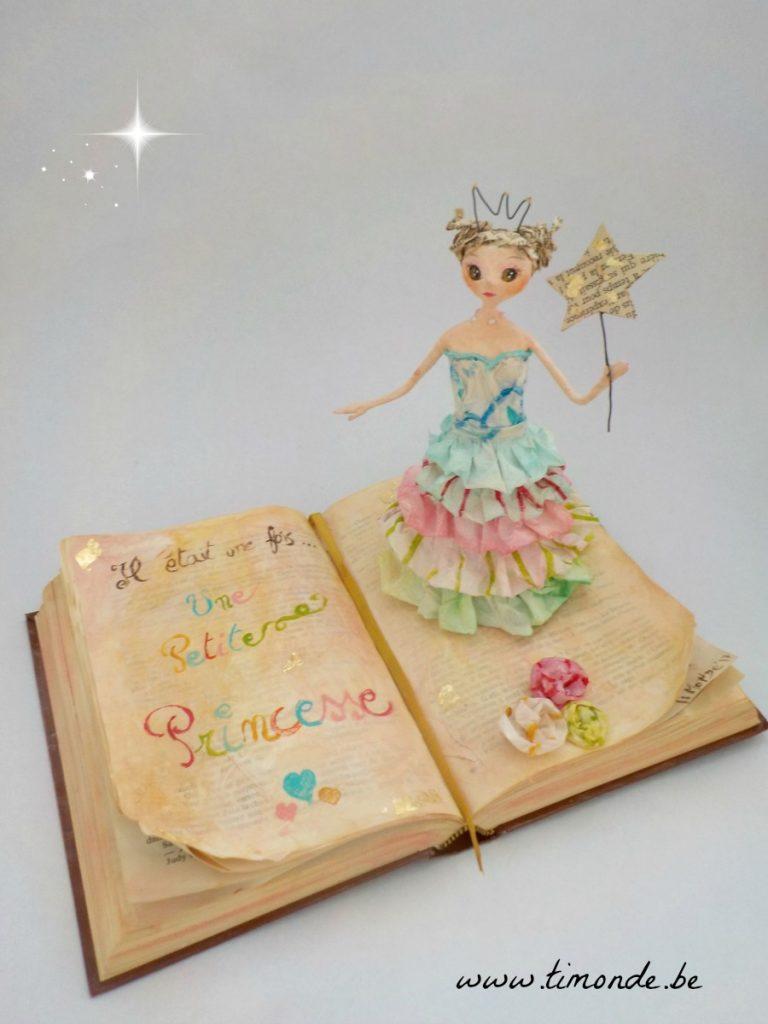 Princesse sur livre 1