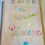 Livre princesse - détail