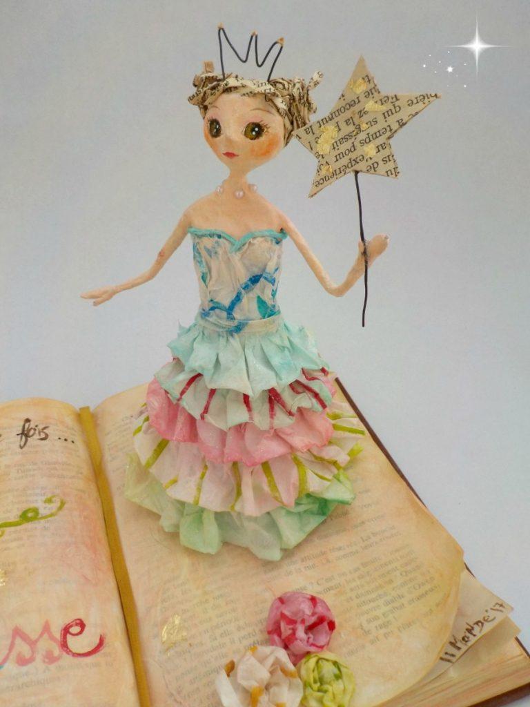 Princesse sur livre 3