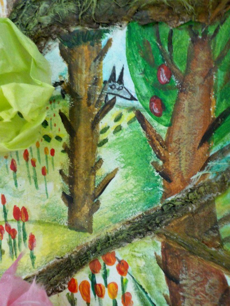 L'arbre des 4 saisons -détail