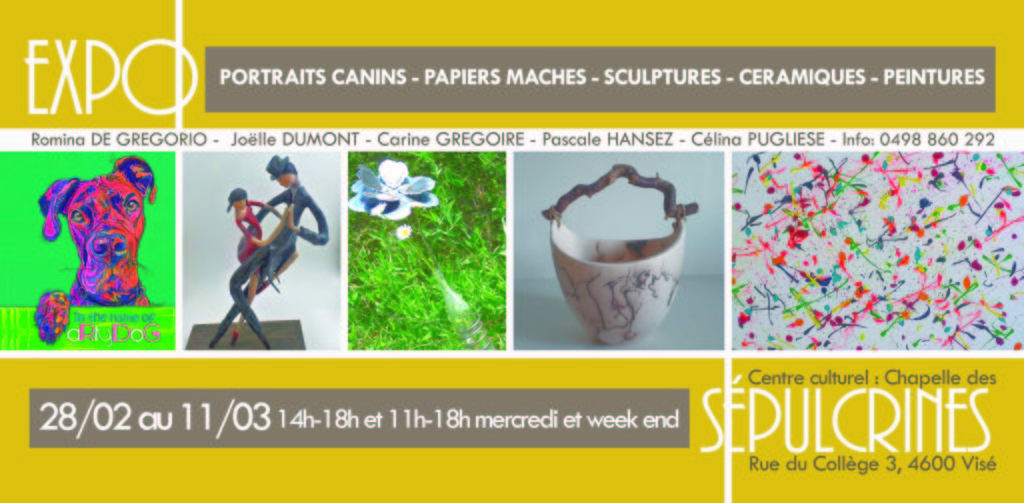 Expo Quintet des Sépulcrines_Flyer recto
