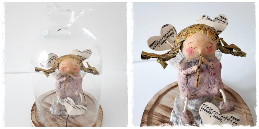 collage petite flutiste