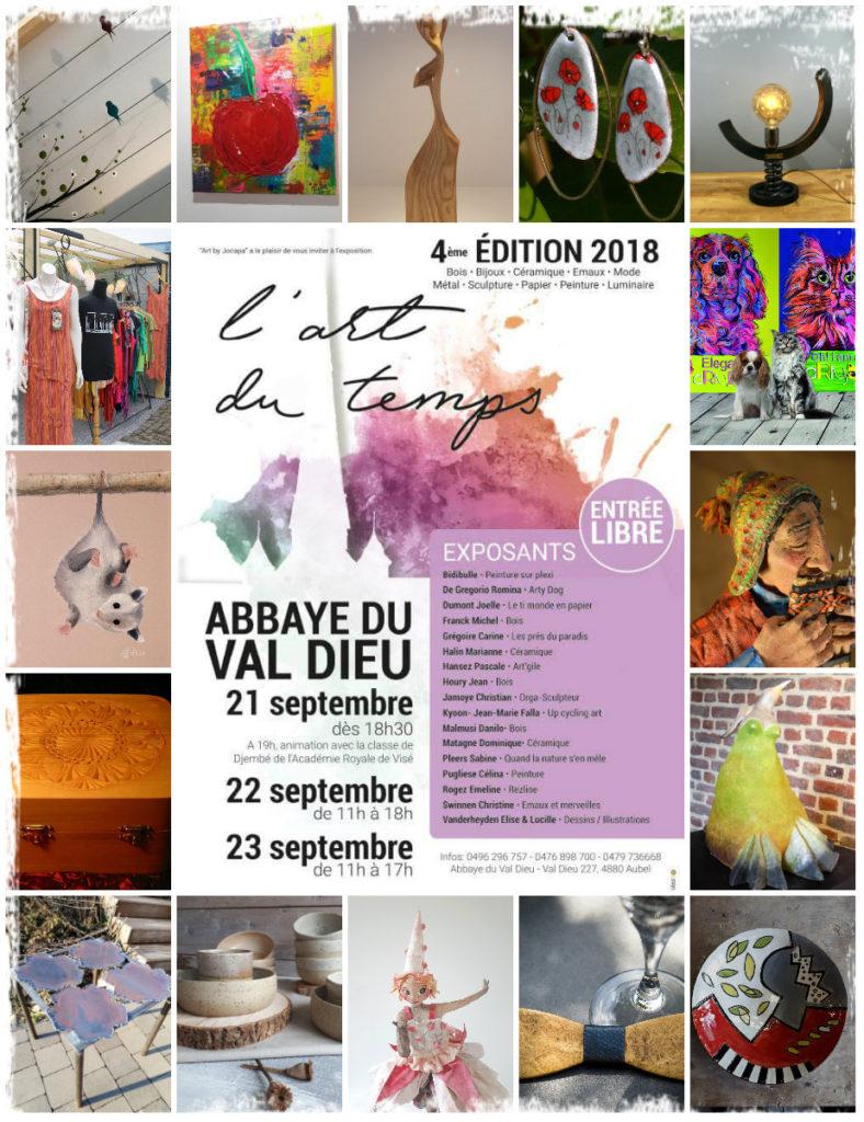 collage pub Val Dieu 2018