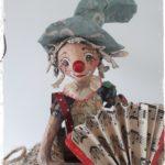 Clown accordéon