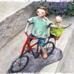 Papa, super cycliste