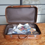 Une vieille valise