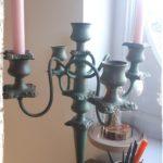 Le chandelier remis à neuf