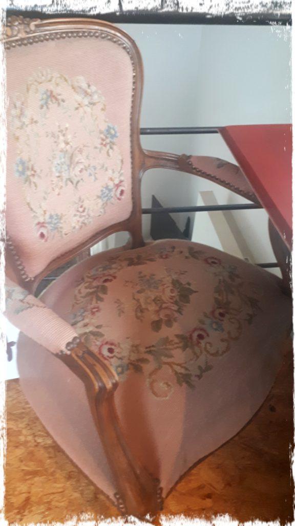 Un beau fauteuil de chez mes beaux-parents